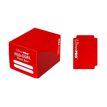 Ultra Pro - Pro Dual Deck Box 120ct - Red available at 401 Games Canada