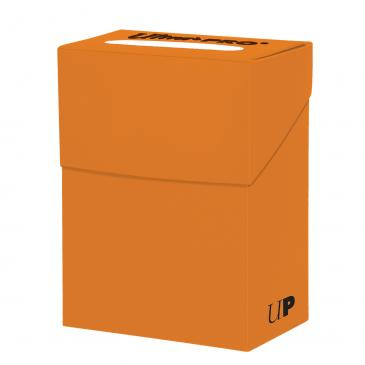 Buy Ultra Pro - Deck Box 80ct - Orange and more Great Sleeves & Supplies Products at 401 Games