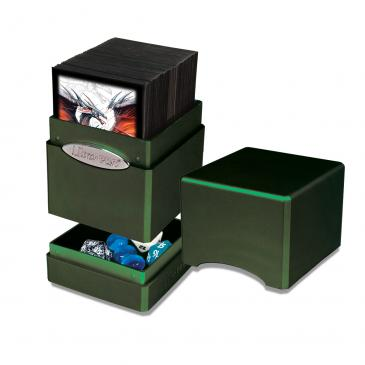 Buy Ultra Pro - Deck Box 100+ Satin Tower - Tropical Moss and more Great Sleeves & Supplies Products at 401 Games