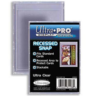 Buy Ultra Pro - 2-Piece Card Storage Box - Recessed Snap and more Great Sleeves & Supplies Products at 401 Games
