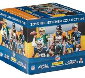 2016 Panini Football Sticker Box - 401 Games