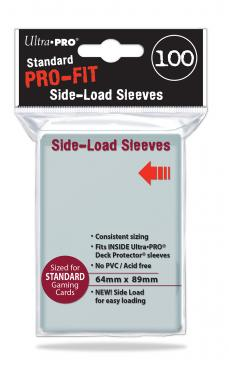 Ultra Pro - Standard Card Sleeves 100ct - Pro-Fit Side Loading 64mm x 89mm