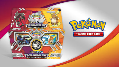 Buy Pokemon - Sun and Moon Lycanroc and Alolan Raichu Trainer Kit and more Great Pokemon Products at 401 Games