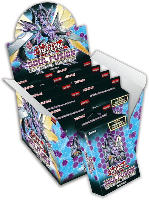 Buy Yugioh - Soul Fusion - Special Edition (Display of 10) and more Great Yugioh Products at 401 Games