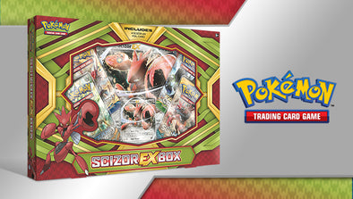 Buy Pokemon - Scizor EX Collection Box and more Great Pokemon Products at 401 Games