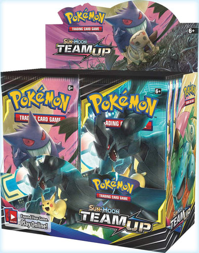 Buy Pokemon - Team Up Booster Box and more Great Pokemon Products at 401 Games