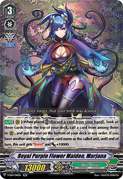 Royal Purple Flower Maiden, Marjana (V-EB14016) (RR) - 401 Games