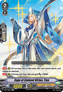 Sage of Eminent Virtue, Tion (V-EB14038) (C) - 401 Games