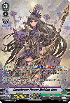 Cornflower Flower Maiden, Ines (V-EB14008) (SP) available at 401 Games Canada