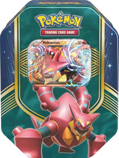 Pokemon - Battle Heart Tin - Volcanion EX available at 401 Games Canada