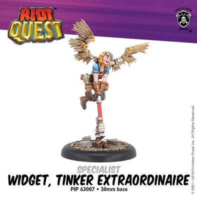 Riot Quest - Hero - Widget - 401 Games