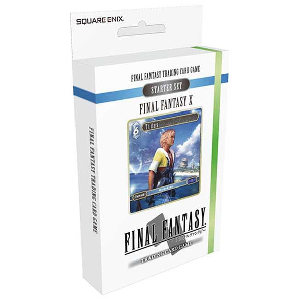 Final Fantasy TCG - Opus 1 Final Fantasy X Wind and Water Starter Deck - 401 Games