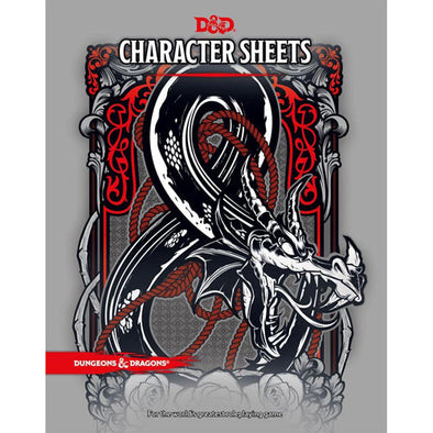 Dungeons & Dragons - 5th Edition - Character Sheets available at 401 Games Canada