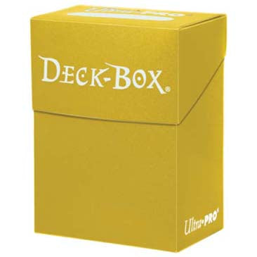 Ultra Pro - Deck Box 80ct - Yellow - 401 Games