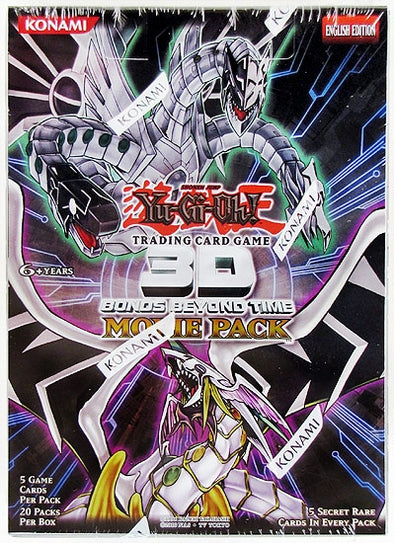 Yugioh - 3D Bonds Beyond Time Movie Booster Box - 401 Games