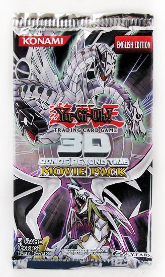 Yugioh - 3D Bonds Beyond Time Movie Booster Pack available at 401 Games Canada