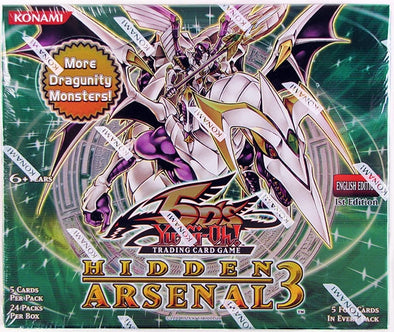 Yugioh - Hidden Arsenal 3 Booster Box - 401 Games