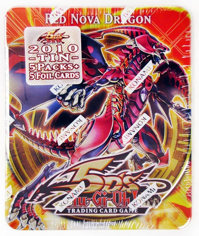 Buy Yugioh - Red Nova Dragon Tin and more Great Yugioh Products at 401 Games