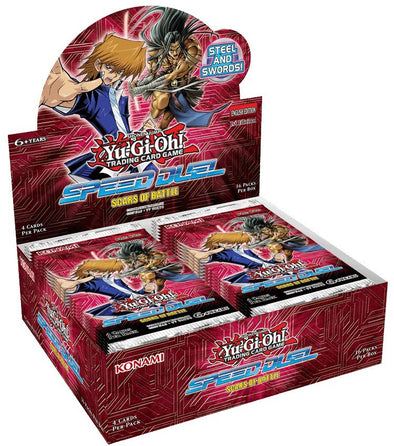 Yugioh - Scars of Battle - Speed Duel Booster Box - 401 Games