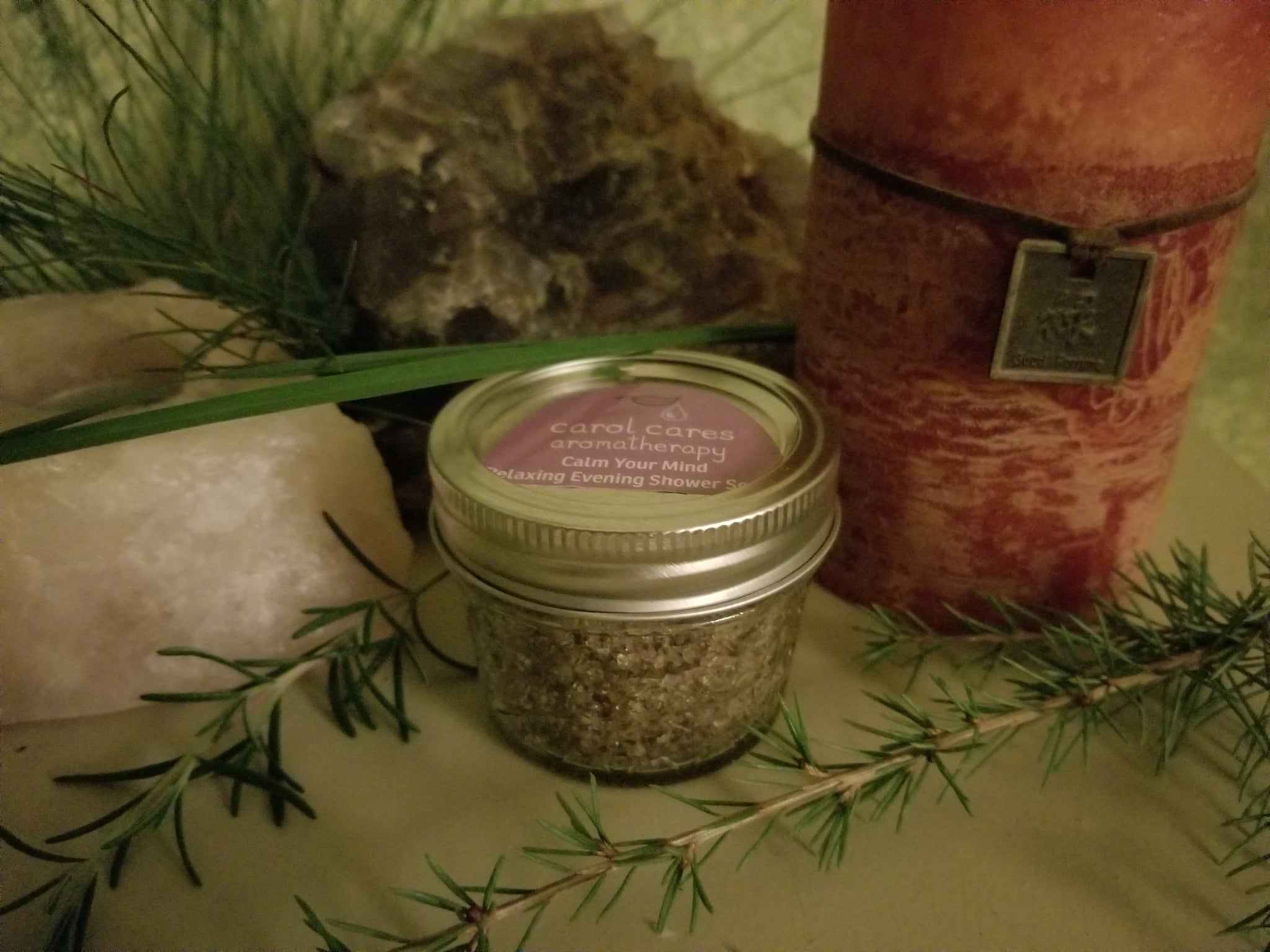 Calm Your Mind Evening Body Shower Scrub
