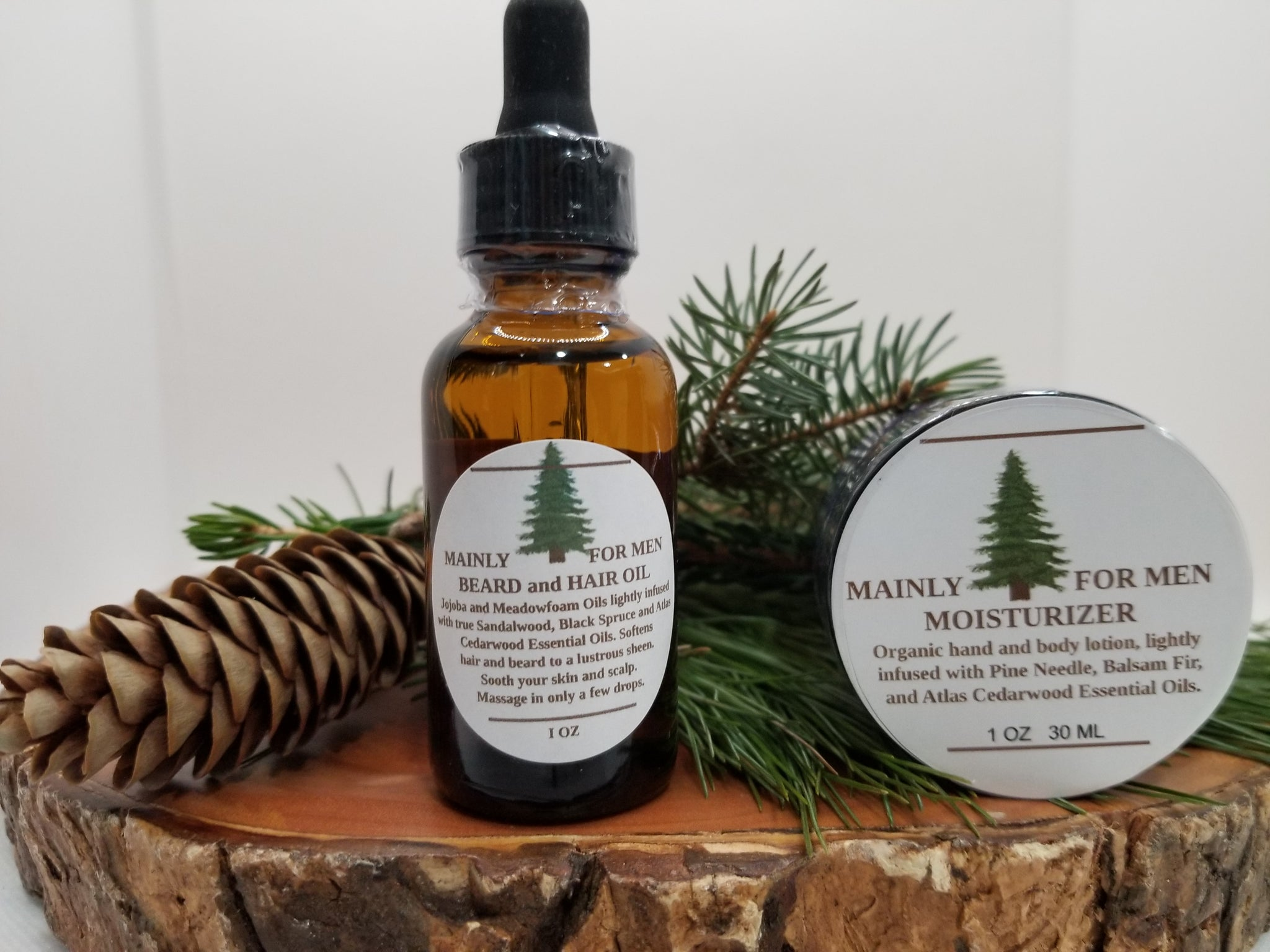 Mainly for Men Beard and Hair Oil