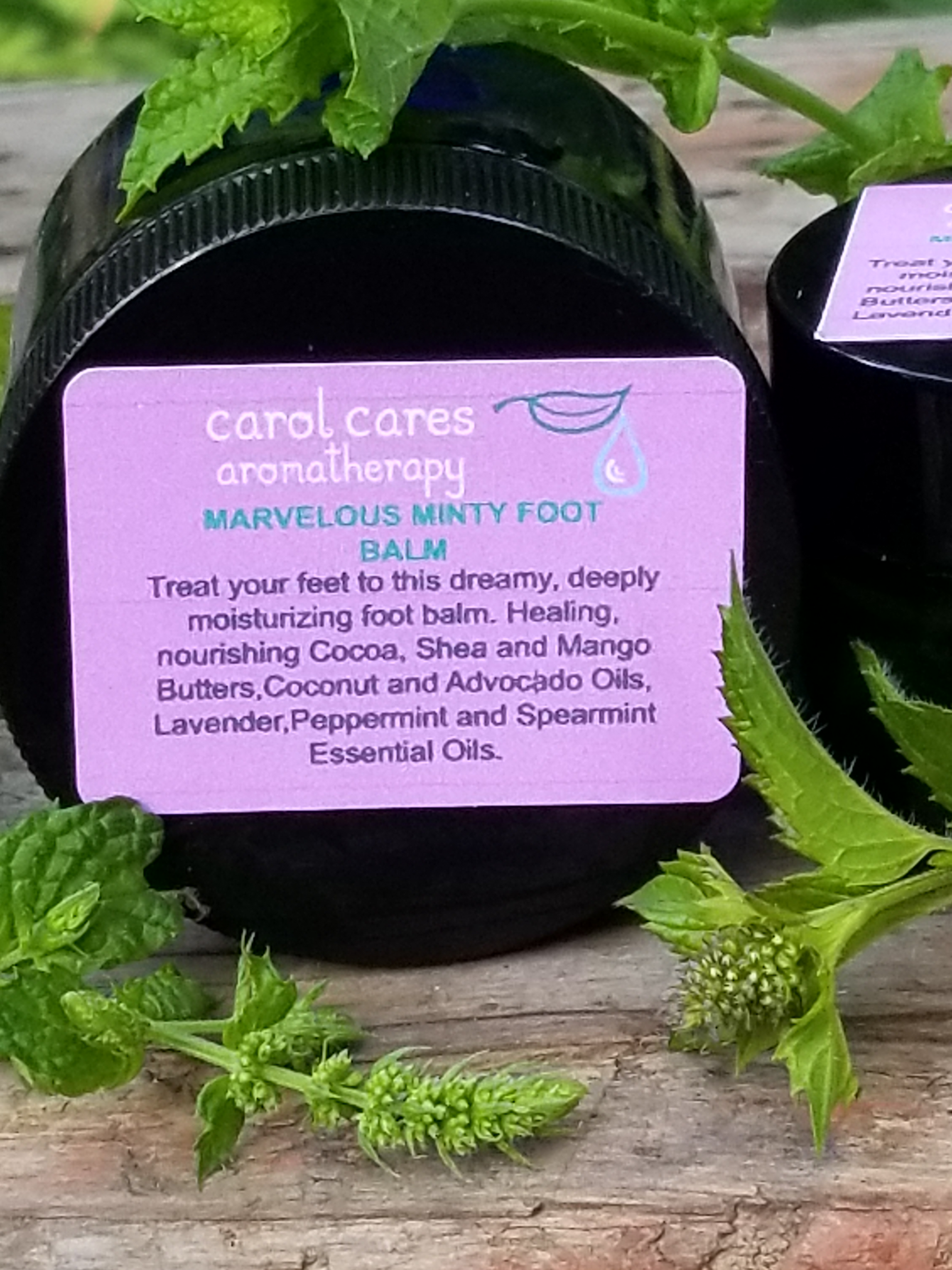 Marvelous Minty Foot Balm