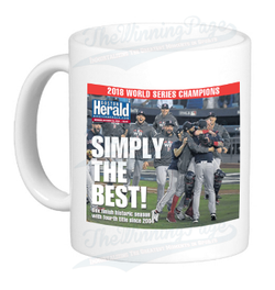 Boston Red Sox 2018 World Series Champions Headline Mug