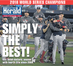 Boston Red Sox 2018 World Series Champs Laminated Poster