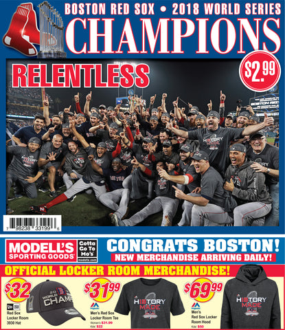 Red Sox Champions Commemorative Special Section