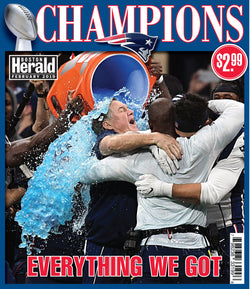 Patriots Champions Commemorative Special Section