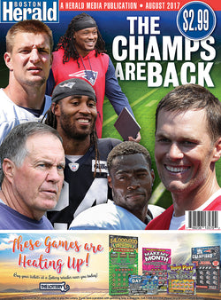 The Champs Are Back Special Section.......Reserve Your Copy Now!