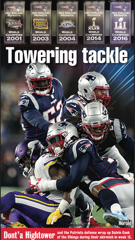 Patriots Poster - Dont'a Hightower