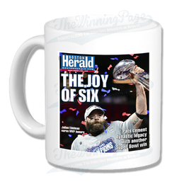 Patriots Super Bowl LIII Victory Boston Herald Headline Mug