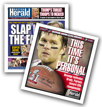 February 2, 2017..........BONUS! Purchase this paper and receive the Herald's Super Bowl Pullout Section Inside