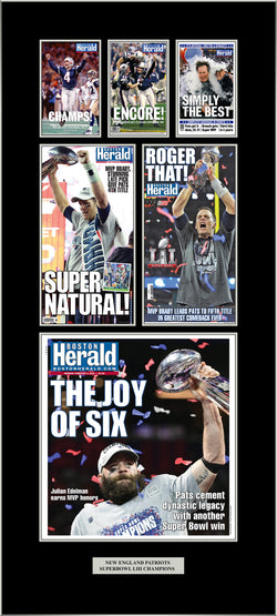 New England Patriots 6-Time Super Bowl Champs