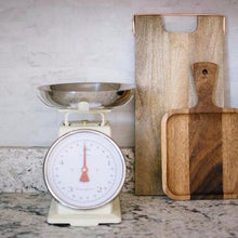 Cream Kitchen Scale