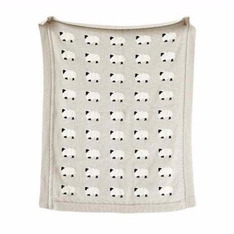Bah Bah Sheep Baby Blanket