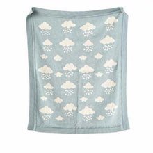 April Showers Baby Blanket