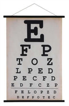 """Can You See Me Now?"" Canvas Eye Chart"