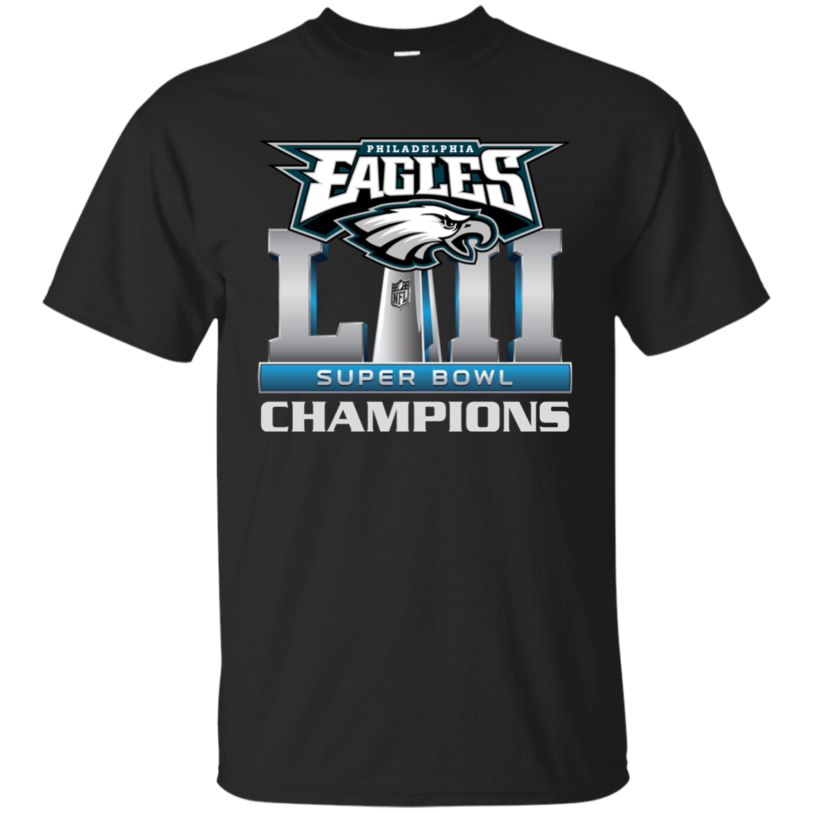 timeless design a1cb7 4181b Philadelphia Eagles Super Bowl 2018 Champions T-shirt