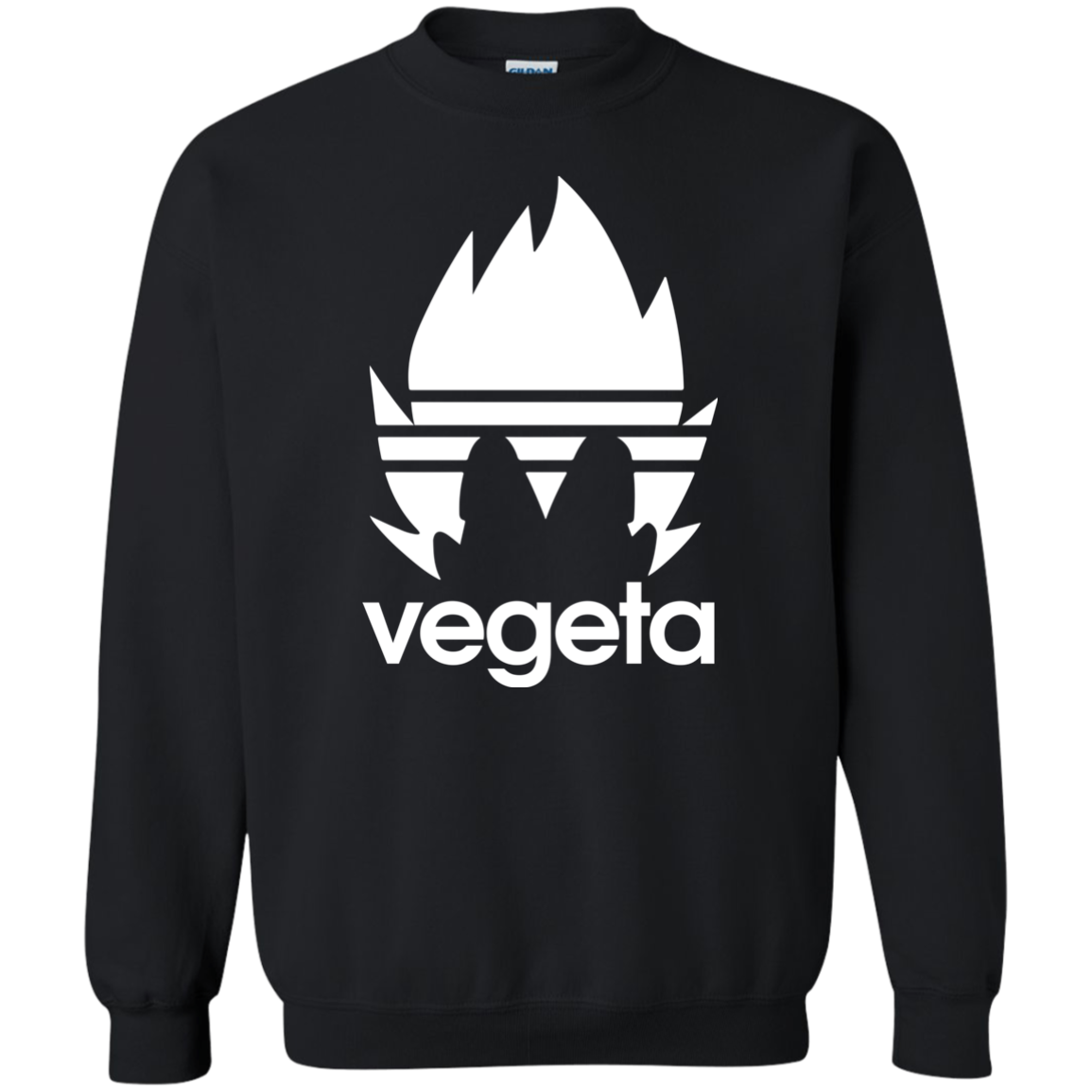 Dragon Ball DBZ Vegeta Adidas logo Shirt  Hoodie