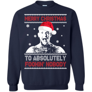 Conor McGregor  Merry Christmas to absolutely fookin nobody sweater  long sleeve
