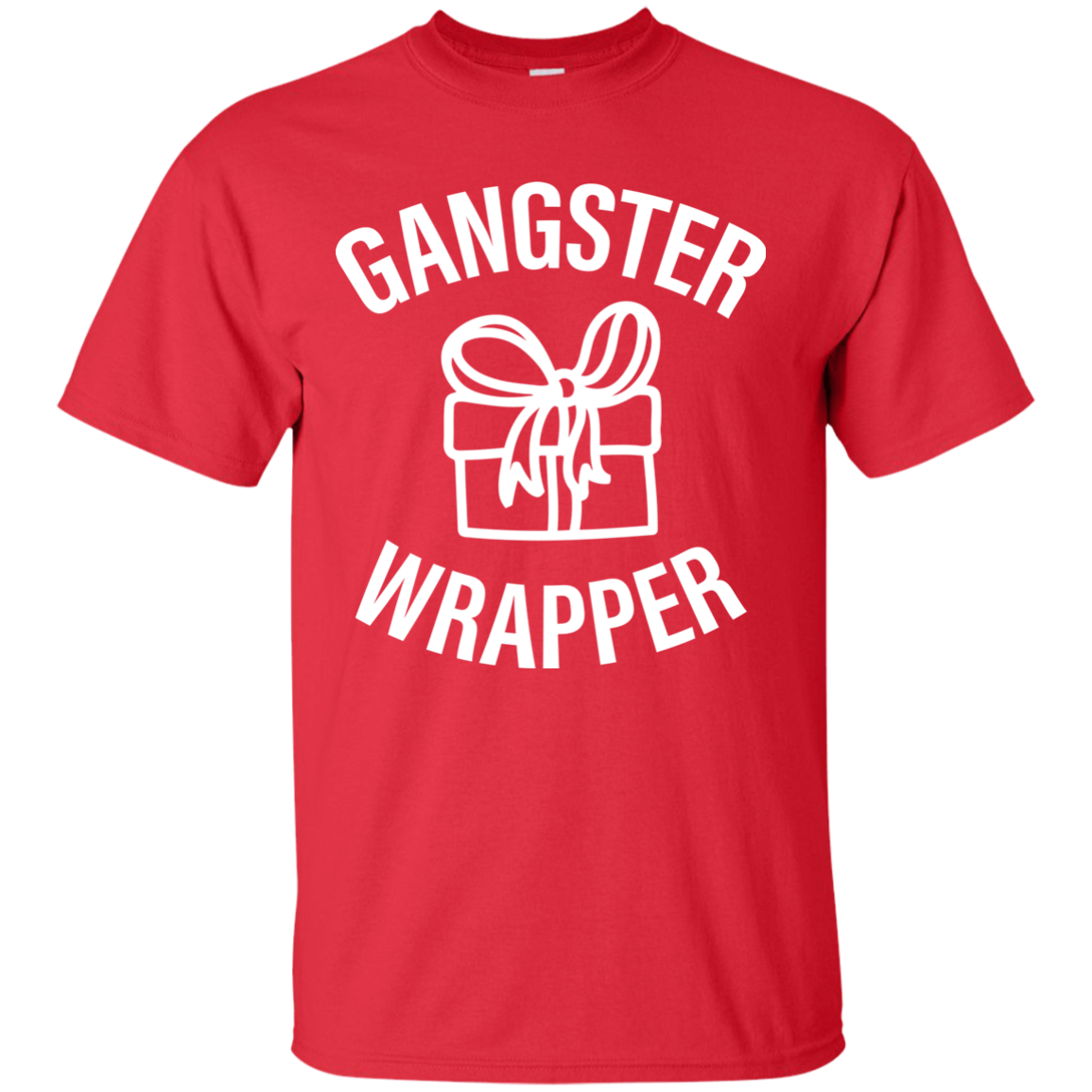 Gangster Wrapper Christmas Shirt, Sweater