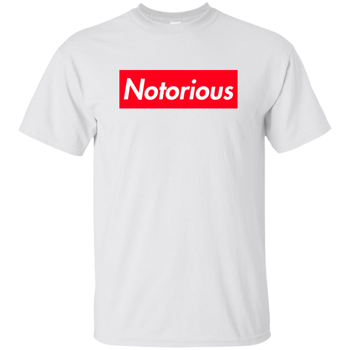 c1ab87d5344a8 Conor McGregor Notorious Supreme Logo Box Shirt