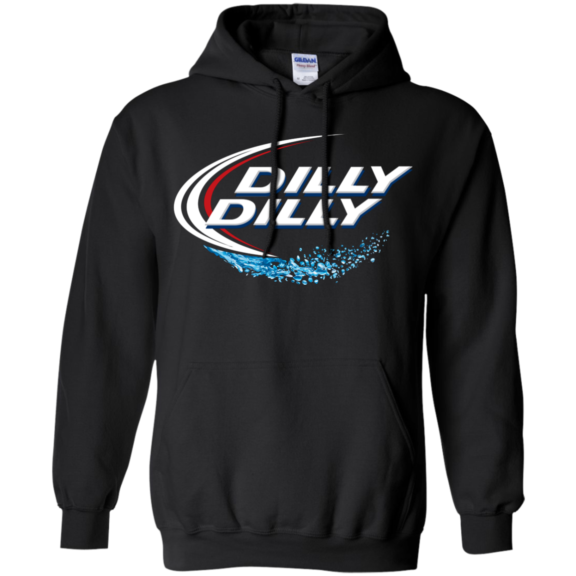 Bud Light Dilly Dilly Splash Hoodie