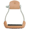 Oxbow Aluminum 3″ Barrel Stirrup with Rubber Pad