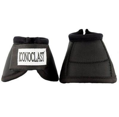 Iconoclast Bell Boots-Black/White