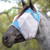 Cashel Crusader Standard Fly Mask with Blue Trim