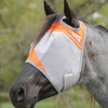Cashel Crusader Standard Fly Mask with Orange Trim