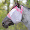 Cashel Crusader Standard Fly Mask with Pink Trim